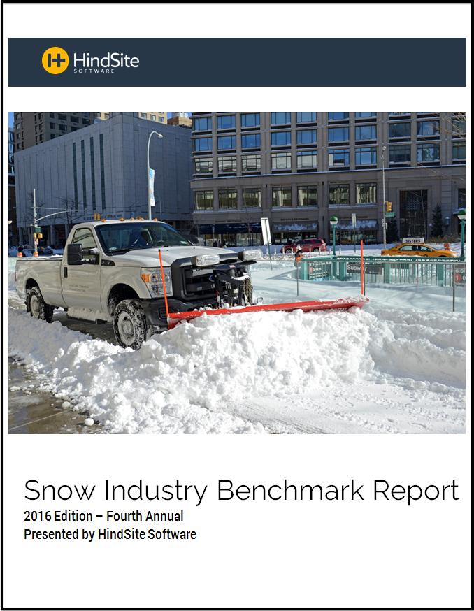 2016 Snow Industry Benchmark Report